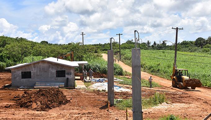 Habitat for Humanity Guam Construction Site